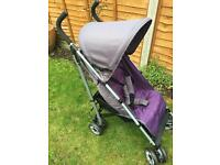 John Lewis umbrella folding stroller with raincover