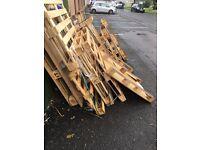 Euro pallets needing collected asap