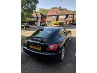 Black 53 PLATE CHRYSLER CROSSFIRE 3.2 V6 COUPE AUTOMATIC WITH M.O.T - VERY GOOD CONDITION