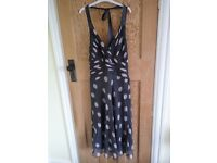 Phase Eight dress (size 14) suitable for a wedding with matching hat