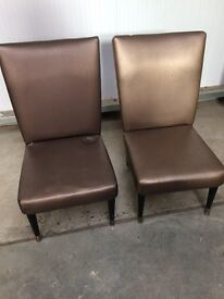 Pair of Retro T.V. Chairs