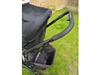 Uppa baby vista travel system with bassinet, car seat adapters for maxi cosi