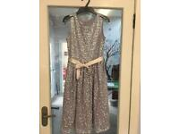 Monsoon lilac party or gala dress with sequins - age 12-13