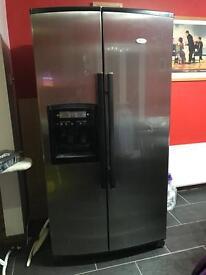 Whirlpool American fridge freezer