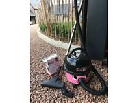 Hetty hoover plus all attachments and 8 bags