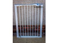 Lindam Easy Fit Plus Deluxe Tall Safety Gate- Used, but great condition