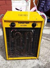 MASTER B15 EPA ELECTRIC HEATER 400V 15kva