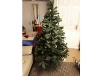 6ft artificial xmas tree.