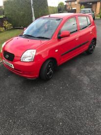 Kia picanto 1.0 2005 red *LOW MILEAGE* needs to go asap