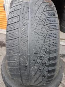 4 PNEUS HIVER - PIRELLI 245 40 18 - 4 WINTER TIRES