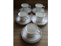 Royal Doulton Charade Tea Cups and Saucers