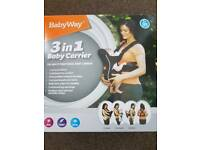 Baby Carrier 3 in 1
