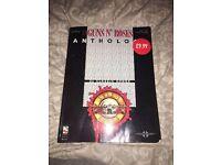 Guns n Roses Anthology Guitar music book