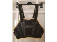 Forcefield Elite Motorcycle/Motocross Chest Protector + Harness (Size Small/Medium)