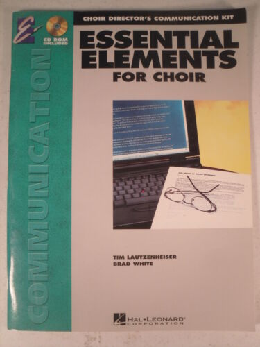 Essential Elements for Choir Hal Leonard Music Book with CD