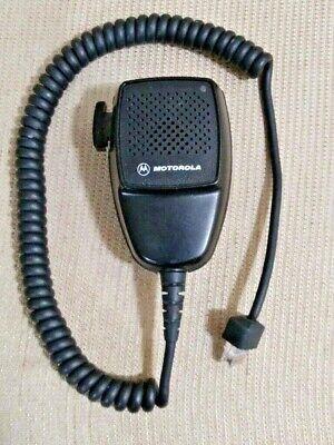 (1) Motorola Hand Mic HMN3008A Police Surplus 0412 8 Pin LED ()