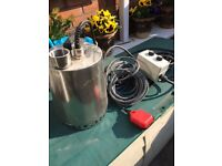 submersible pump grundfos 3 phase new