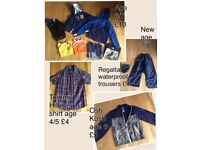 Boys clothes / shoes mixed sizes