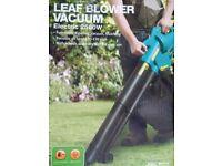 3 in1 Leaf Blower / Leaf Vacuum - Electric Garden Leaf Vacuum Mulching New