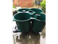 Cloverleaf 3 koi pond filter