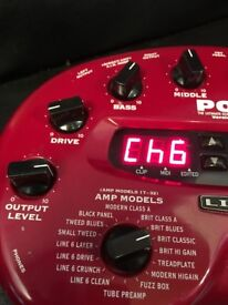 This is a Line 6 Guitar Pod Version 2.