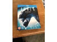 Alien Anthology blu ray films 1-4