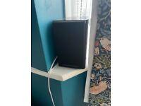 Mordaunt Short 2 satellite speakers 1 center speaker.
