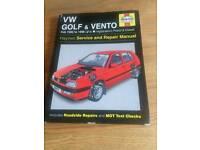 Haynes Manual VW Golf & Vento