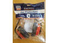 PORTWEST EAR PROTECTORS EN352 Certified Noise Reduction
