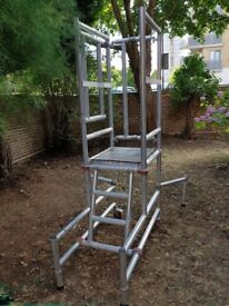Podium Step 1.25M Scaffold tower ladder
