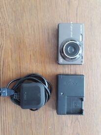 Sony DSC-W300 Digital Camera with Charger and 4 Memory cards