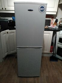 "Fridge Freezer "" Iceking "" WHITE Nearly New condition"