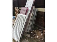 18 used radiators