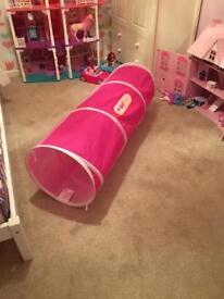 GetGo Child's play tunnel (pink)