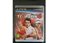 Like NEW Top Spin 4 PS3 game