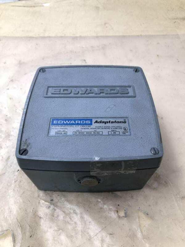 Edwards Adaptatone 5540A-AQ Audible Signal Appliance 24-36VDC 24VAC