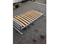 Single bed frame with mattress included