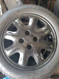 Vauxhall 4x100 185.60.r14 alloys