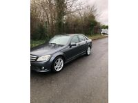 LATE 2009 MERCEDES c220 (AMG SPORT) AUTOMATIC