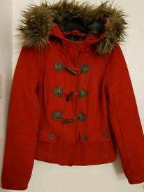 Abercrombie and Fitch Red Coat Size Small