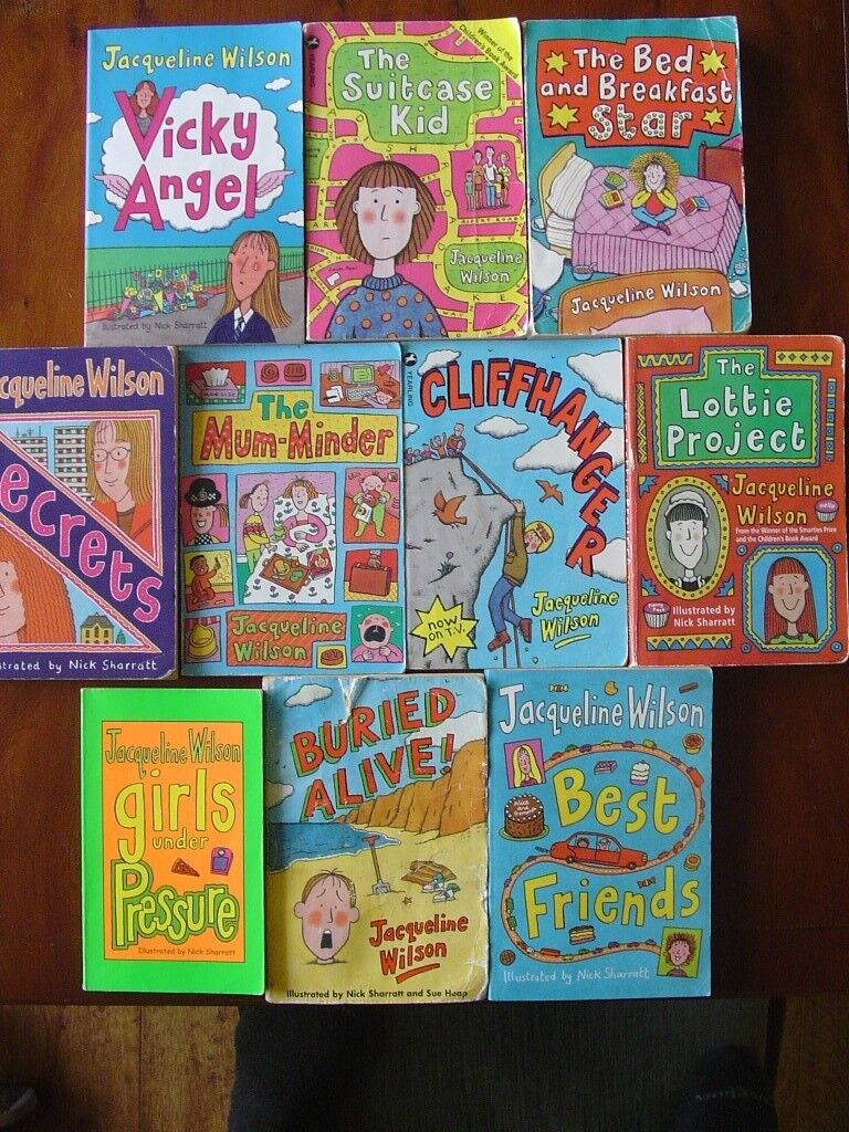 Children S Book Jacqueline Wilson Girls Books Age 9 11 Years