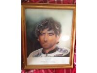 Joey Dunlop painting limited edition