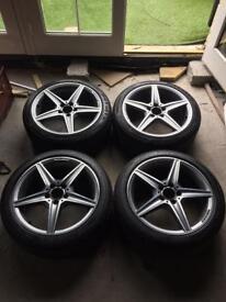 Mercedez Genuine AMG Alloy Wheels
