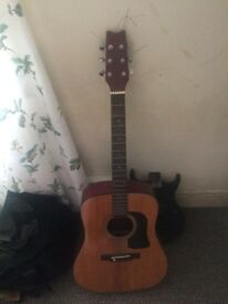 Selection of acoustic guitars, £10-50