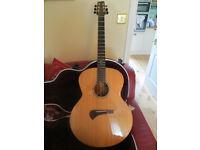 Tanglewood TSM3 Michael Sanden MasterDesign Jumbo Acoustic with SKB Hard Case