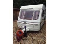 5 berth swift caravan 1994
