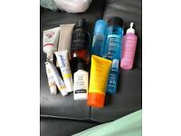 Small collection of nail and beauty items