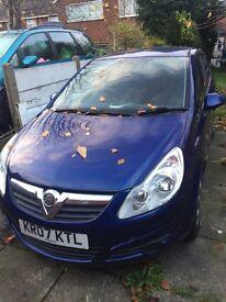 Vauxhall corsa low mielage