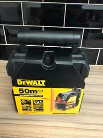 DEWALT DW088K-XJ RED SELF-LEVELLING CROSS-LINE LINE LASER brand new sealed