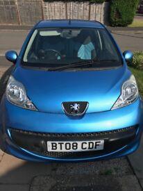 Peugeot 107 Blue 5 Door